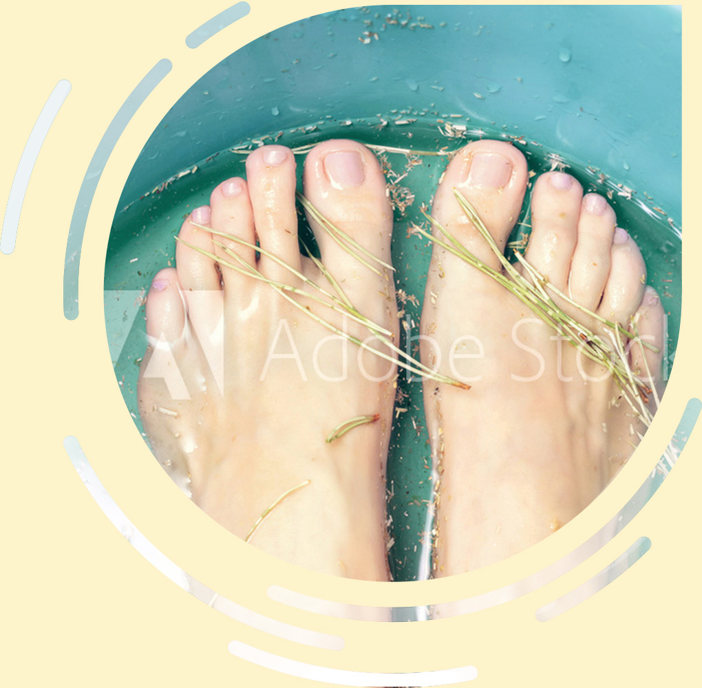 WCHM Herbal Foot Spa